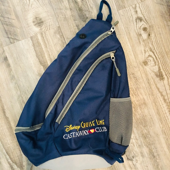 Disney Cruise Line Castaway Club Sling Bag